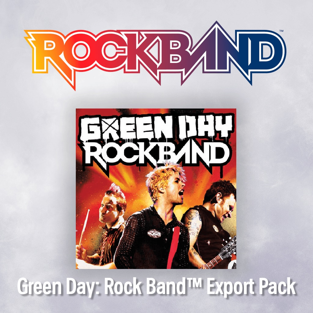 Green Day: Rock Band™ Export Pack