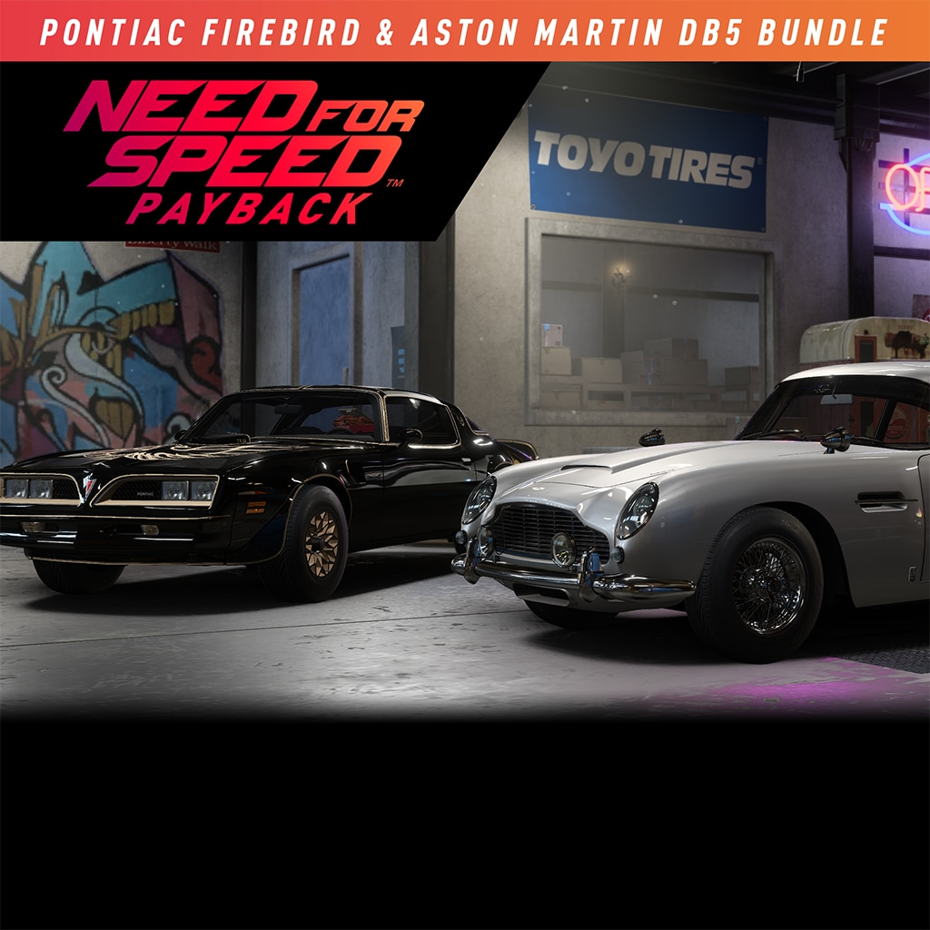 Pontiac Firebird & Aston Martin DB5 Bundle