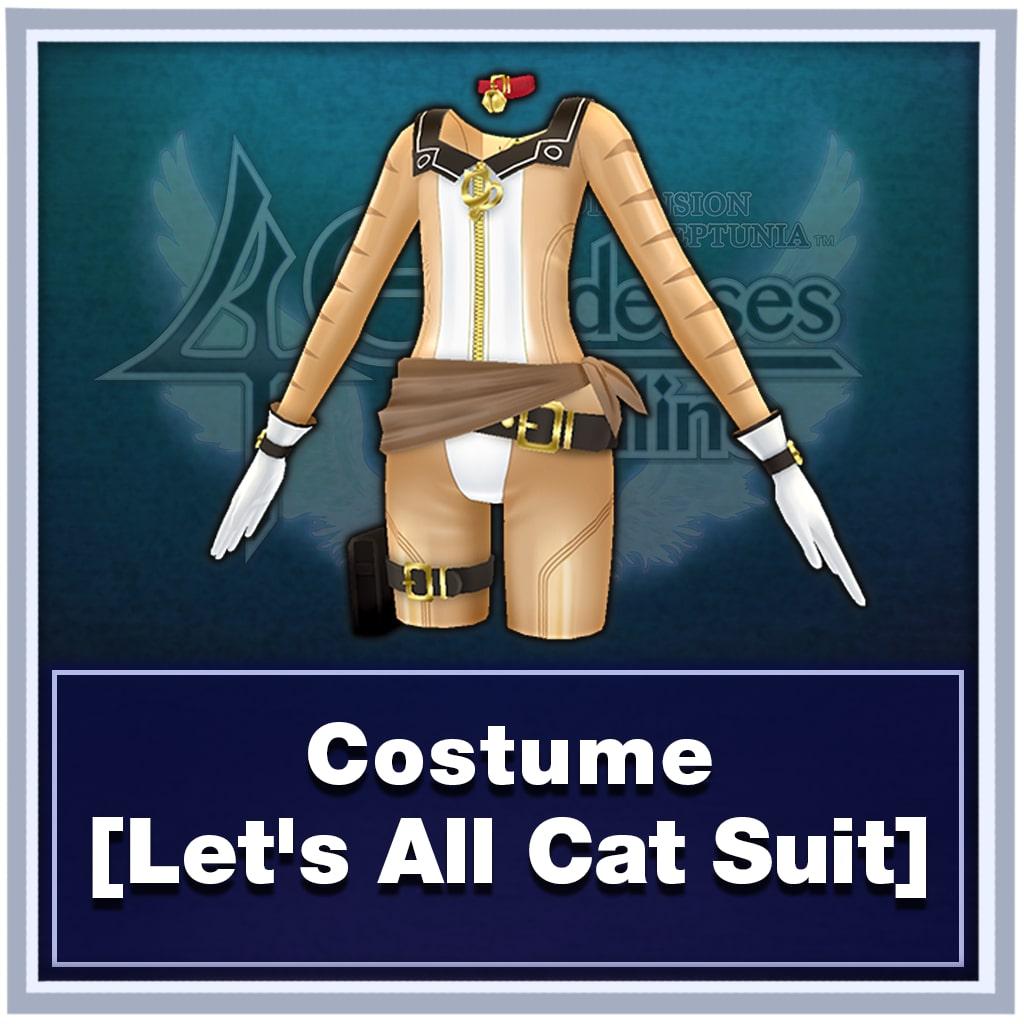 Costume [Let's All Cat Suit]