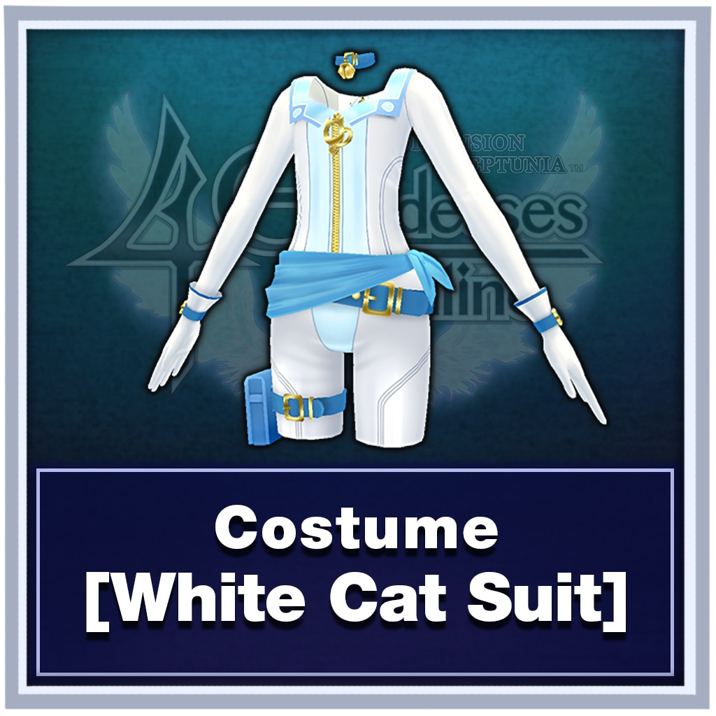 Costume [White Cat Suit]