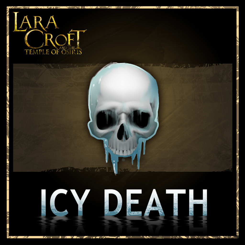 Lara Croft and the Temple of Osiris Pack Mort glaciale