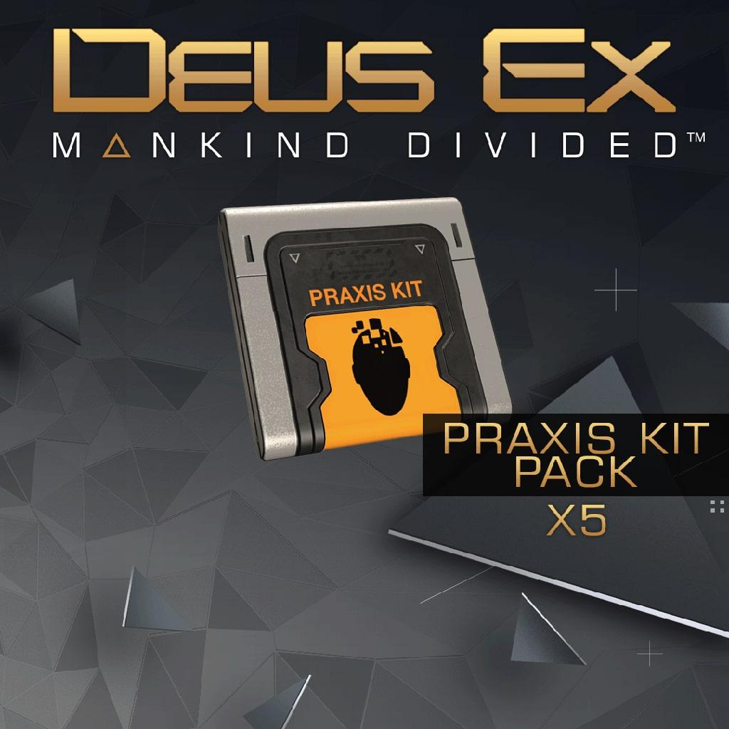 Deus Ex: Mankind Divided - Kits de Praxis (x5)