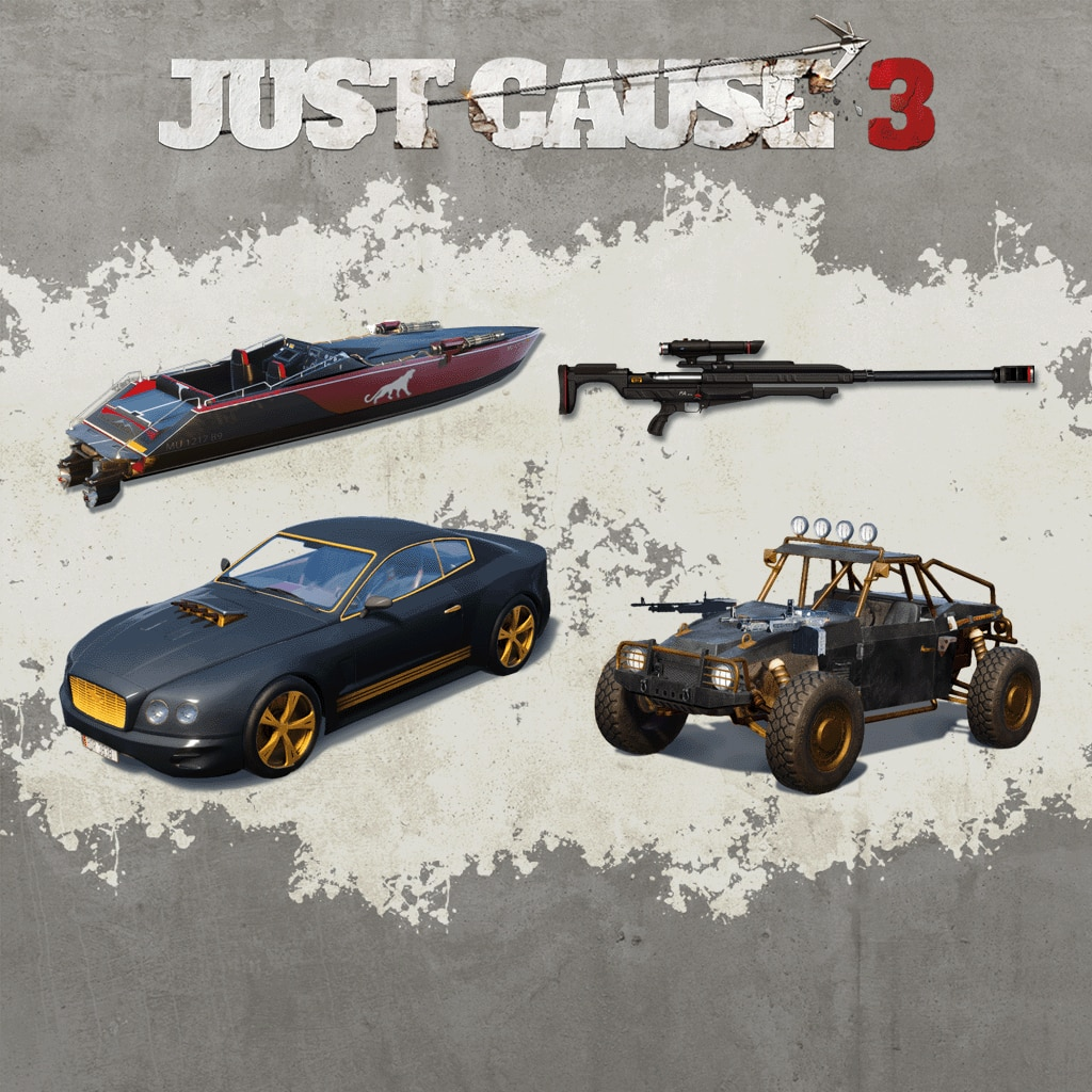 Just Cause 3: Weaponised Vehicle Pack & Sniper Rifle