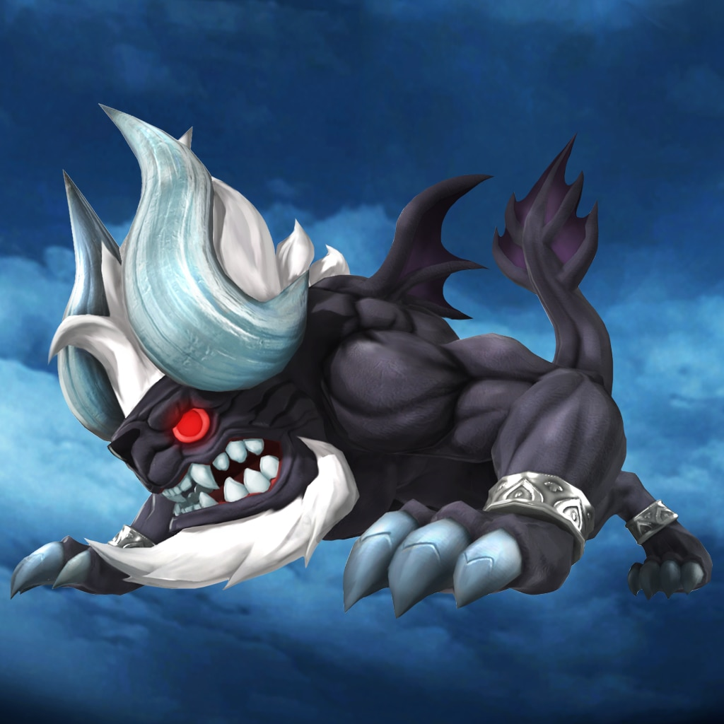 WORLD OF FINAL FANTASY® - Dark Behemoth creature
