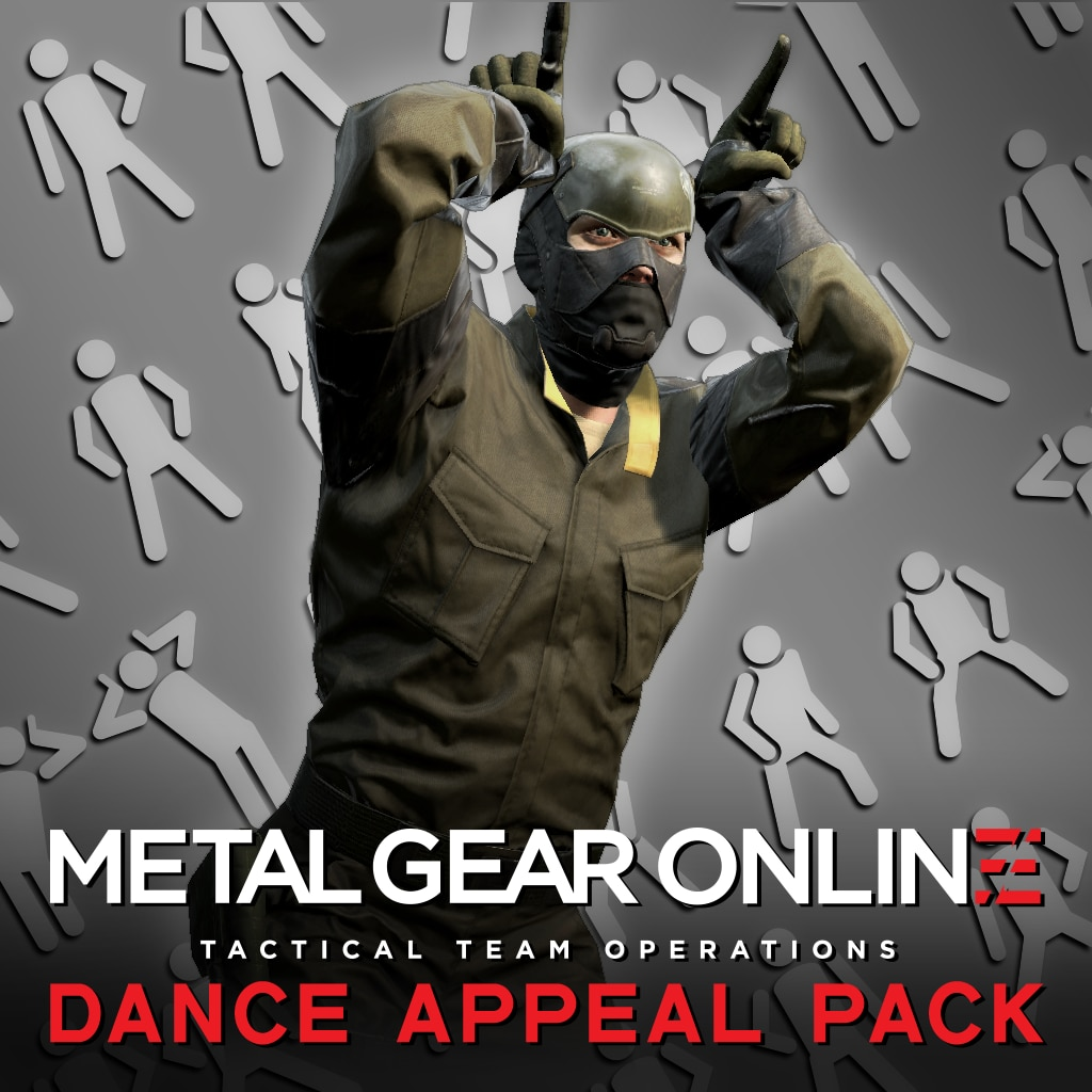 METAL GEAR ONLINE 'DANCE APPEAL PACK'