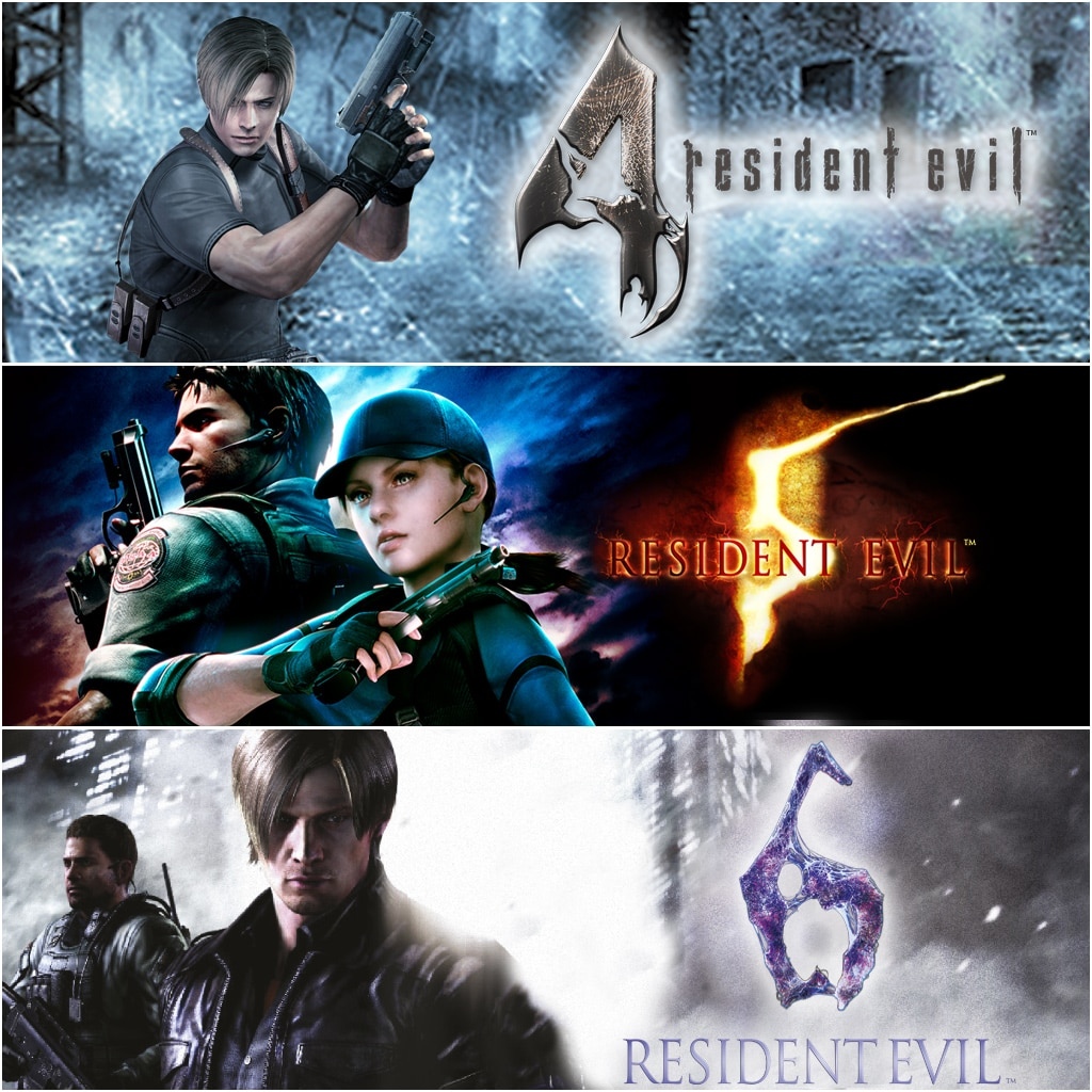 Resident Evil Triple Bundle Pack
