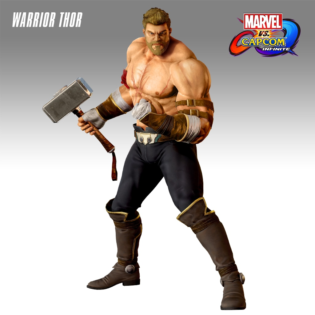 Marvel vs. Capcom: Infinite - Warrior Thor Costume