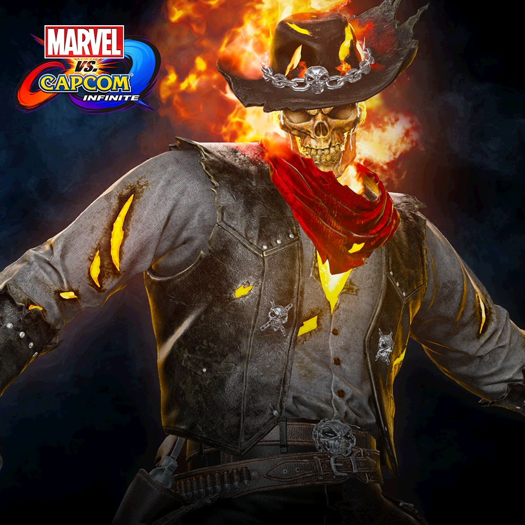 Marvel vs. Capcom: Infinite - Ghost Rider Outlaw Costume