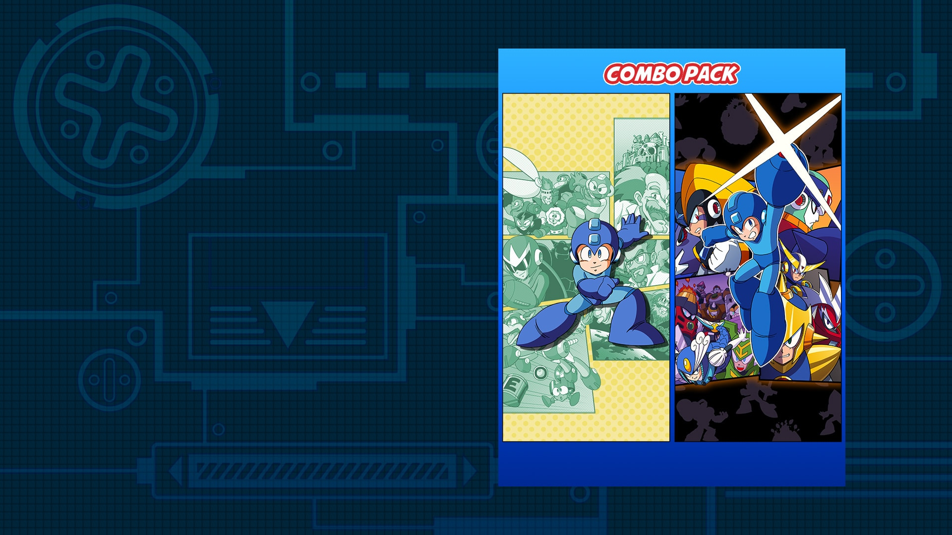 Mega Man Legacy Collection 1 & 2 Combo Pack
