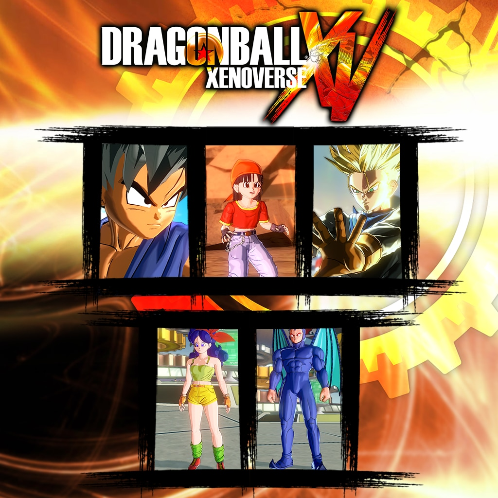 PACOTE GT 1 do Dragon Ball Xenoverse