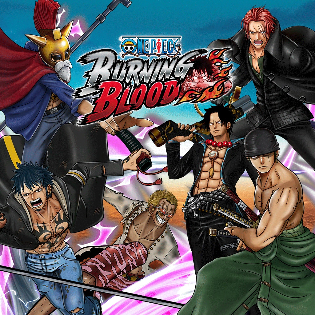 One Piece Burning Blood - CHARACTER PACK