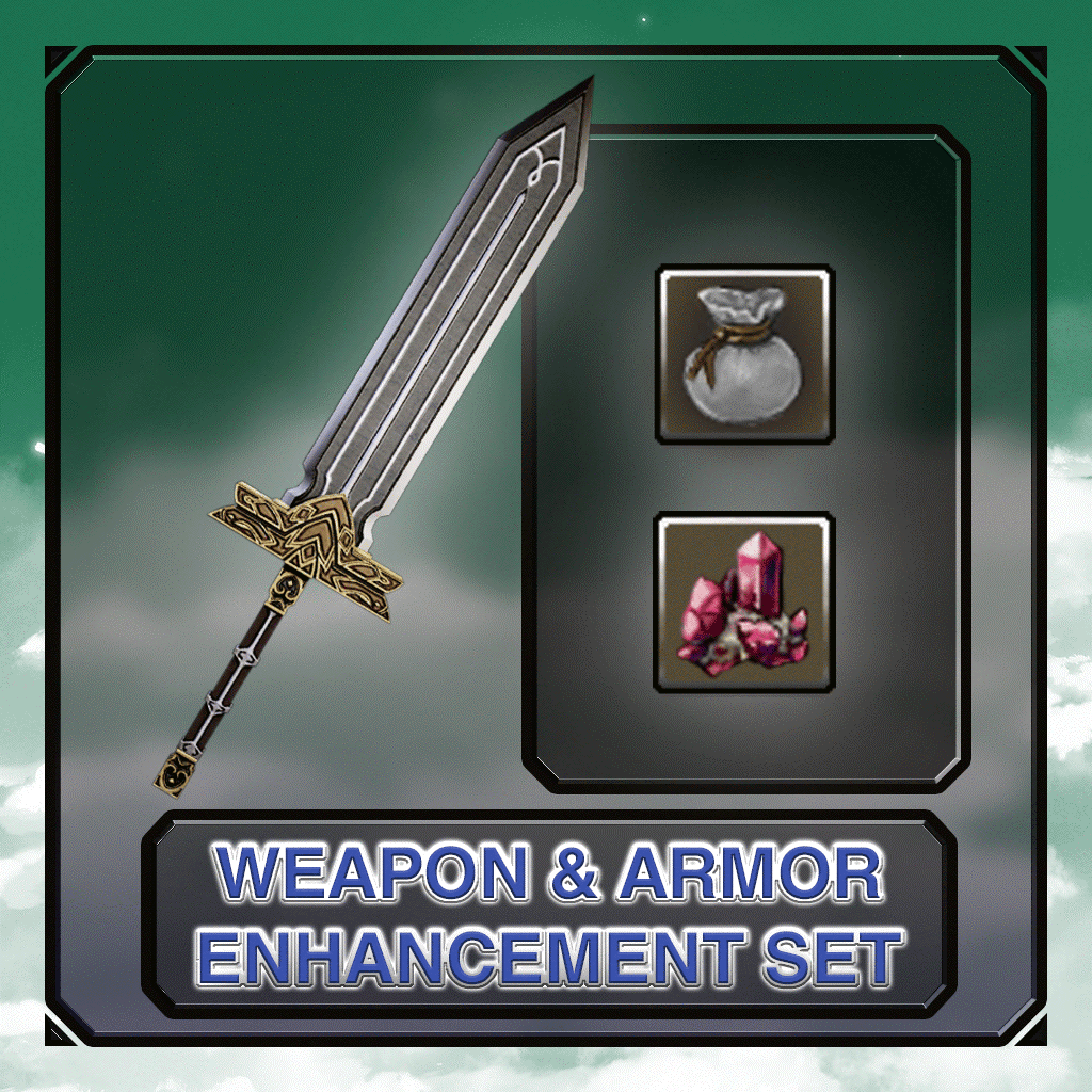 Weapons & Armor Enhancement Set
