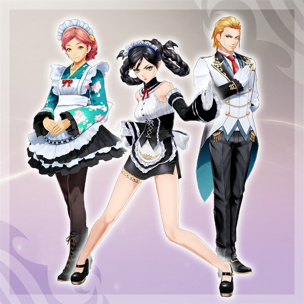 Tales of Berseria - Maid/Butler Costumes Set