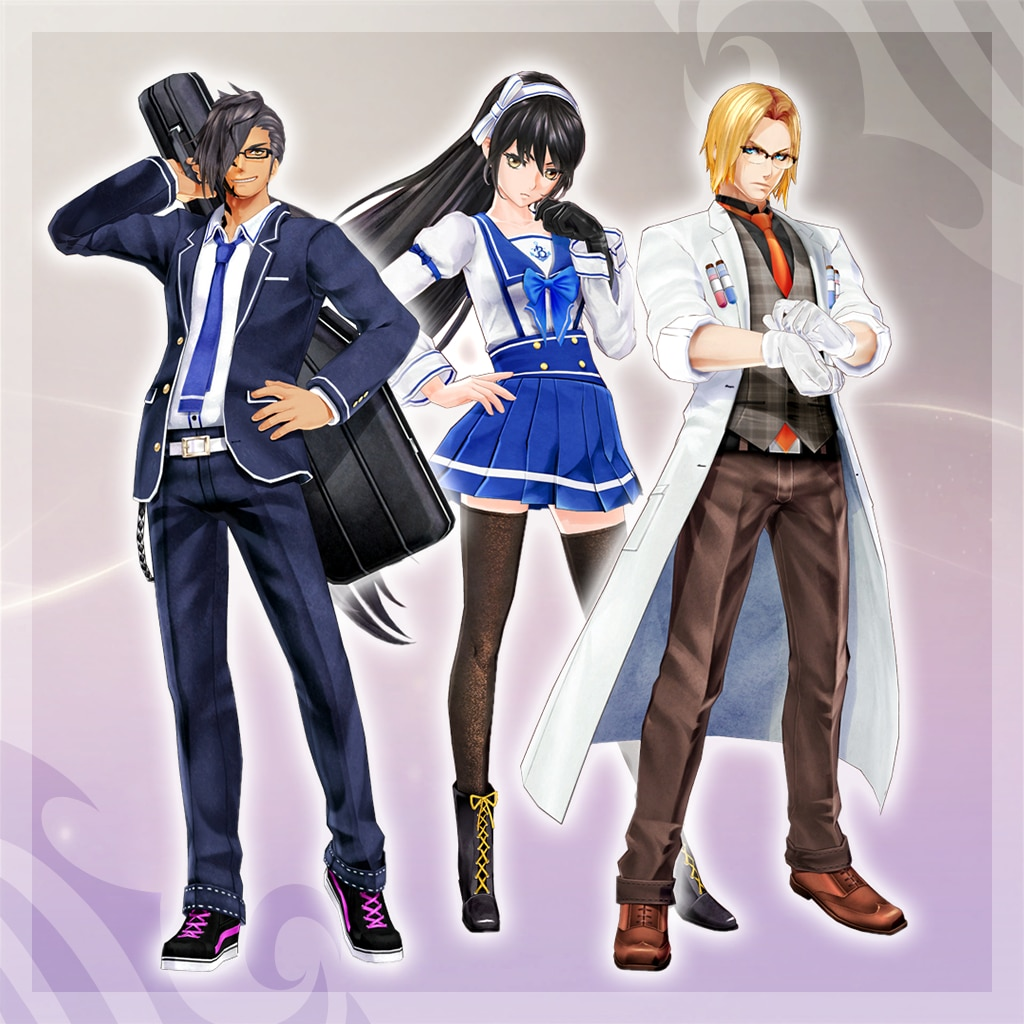 Tales of Berseria - High School Costume Pack