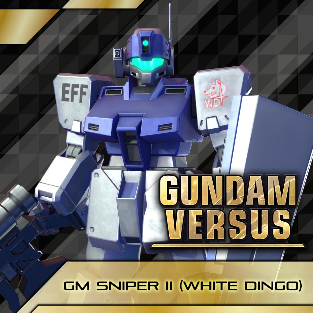 GUNDAM VERSUS - GM Sniper II (White Dingo)