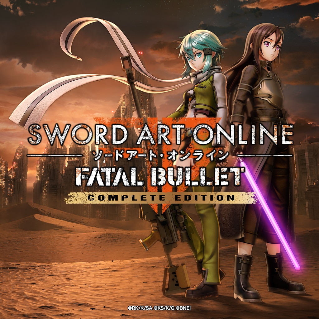 SWORD ART ONLINE: FATAL BULLET Complete Edition (English)