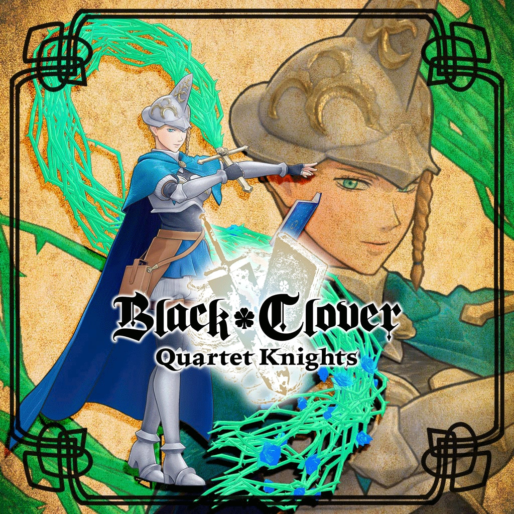 BLACK CLOVER: QUARTET KNIGHTS Royal Magic Knight Set - Blue