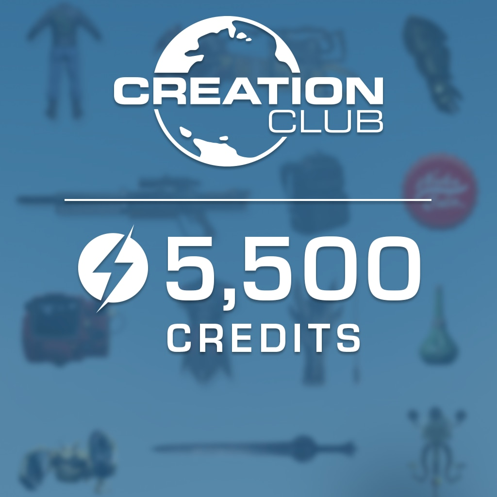 Fallout 4 Creation Club: 5500 Credits