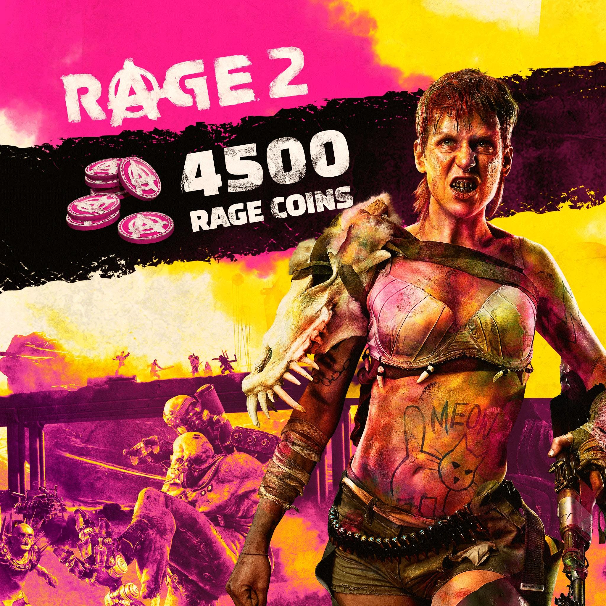 RAGE 2: 4500 RAGE Coins