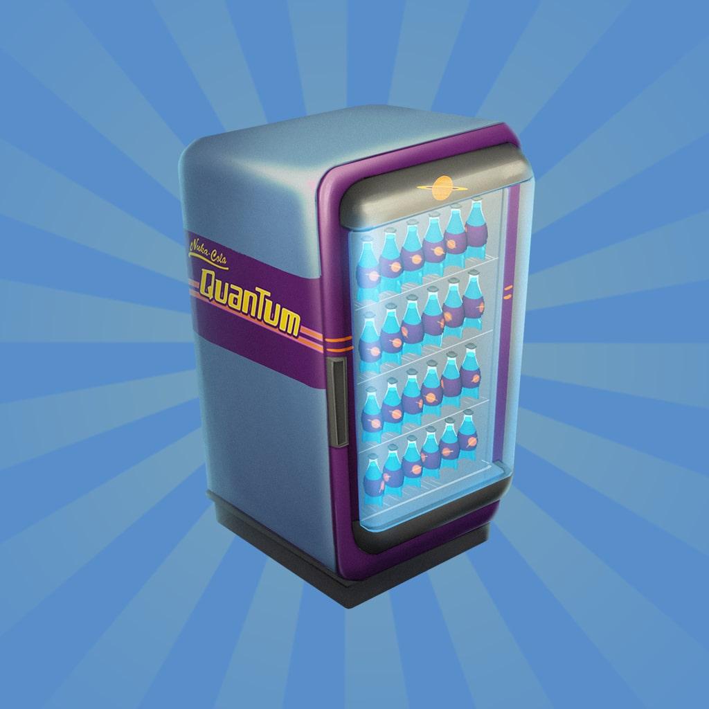 Fallout Shelter: Réfrigérateur de Nuka-Cola Quantum