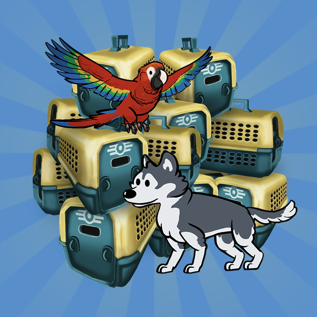 Fallout Shelter: Bundle of 15 Pet Carriers