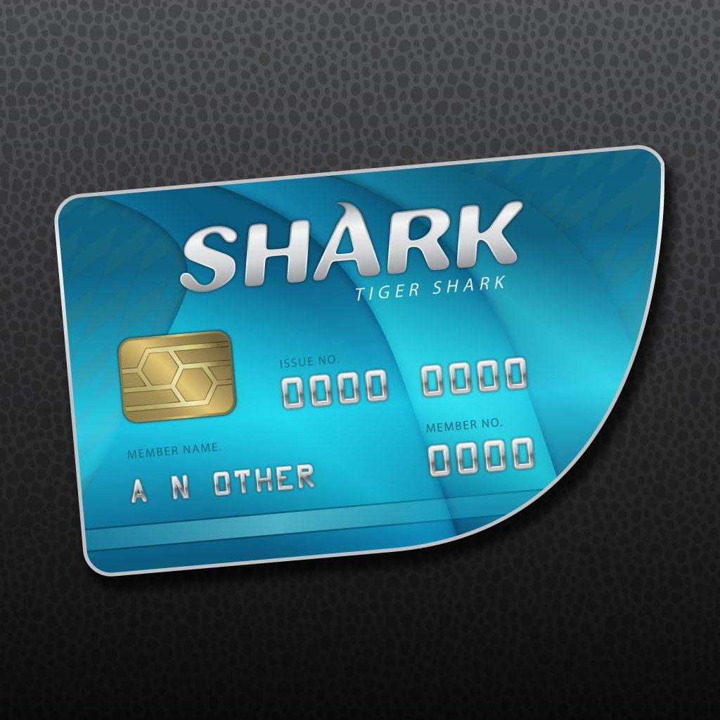 Karta gotówkowa Tiger Shark