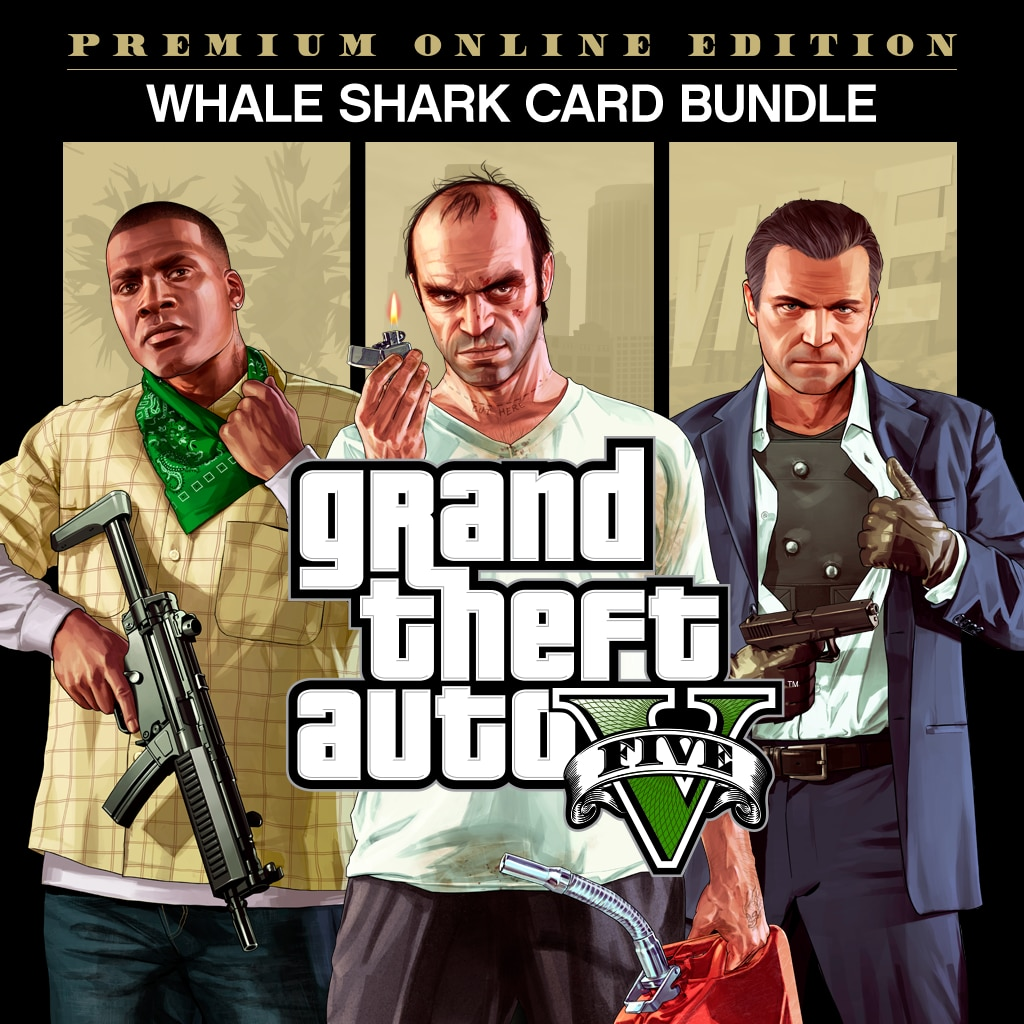 GTAV Premium Online Edition & Whale Shark Card Bundle