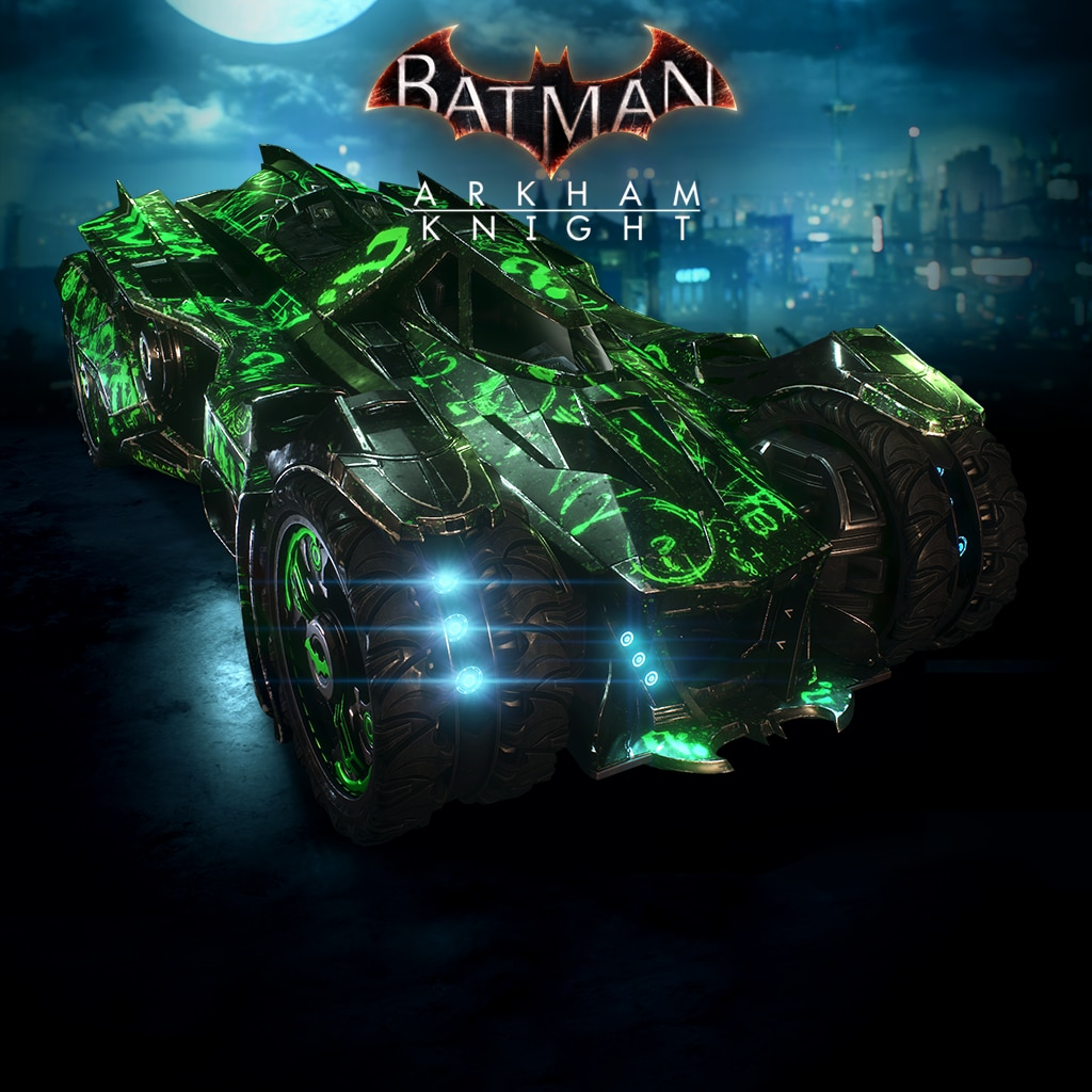 Batman™: Arkham Knight Riddler Themed Batmobile Skin