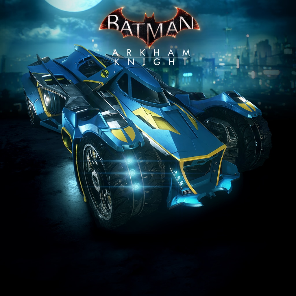 Batman™: Arkham Knight 1970s Batman Themed Batmobile Skin