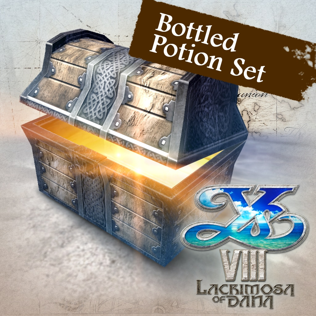 Ys VIII - Bottled Potion Set