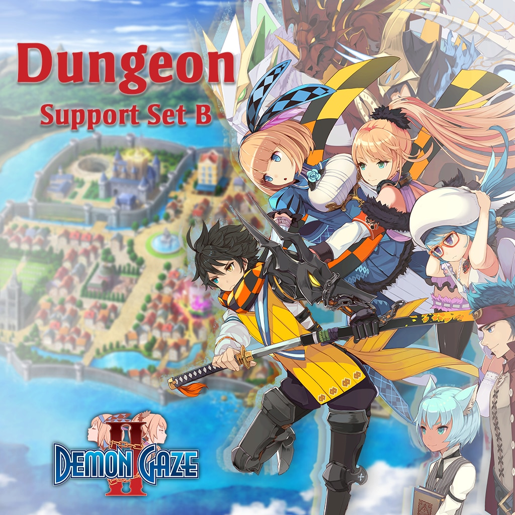 Demon Gaze II - Dungeon Support Set B