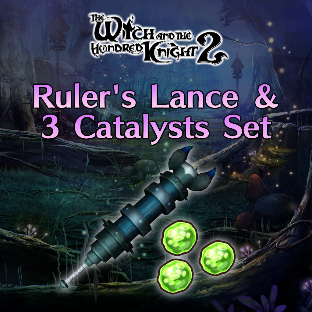 Ruler's Lance & 3 Catalysts Set