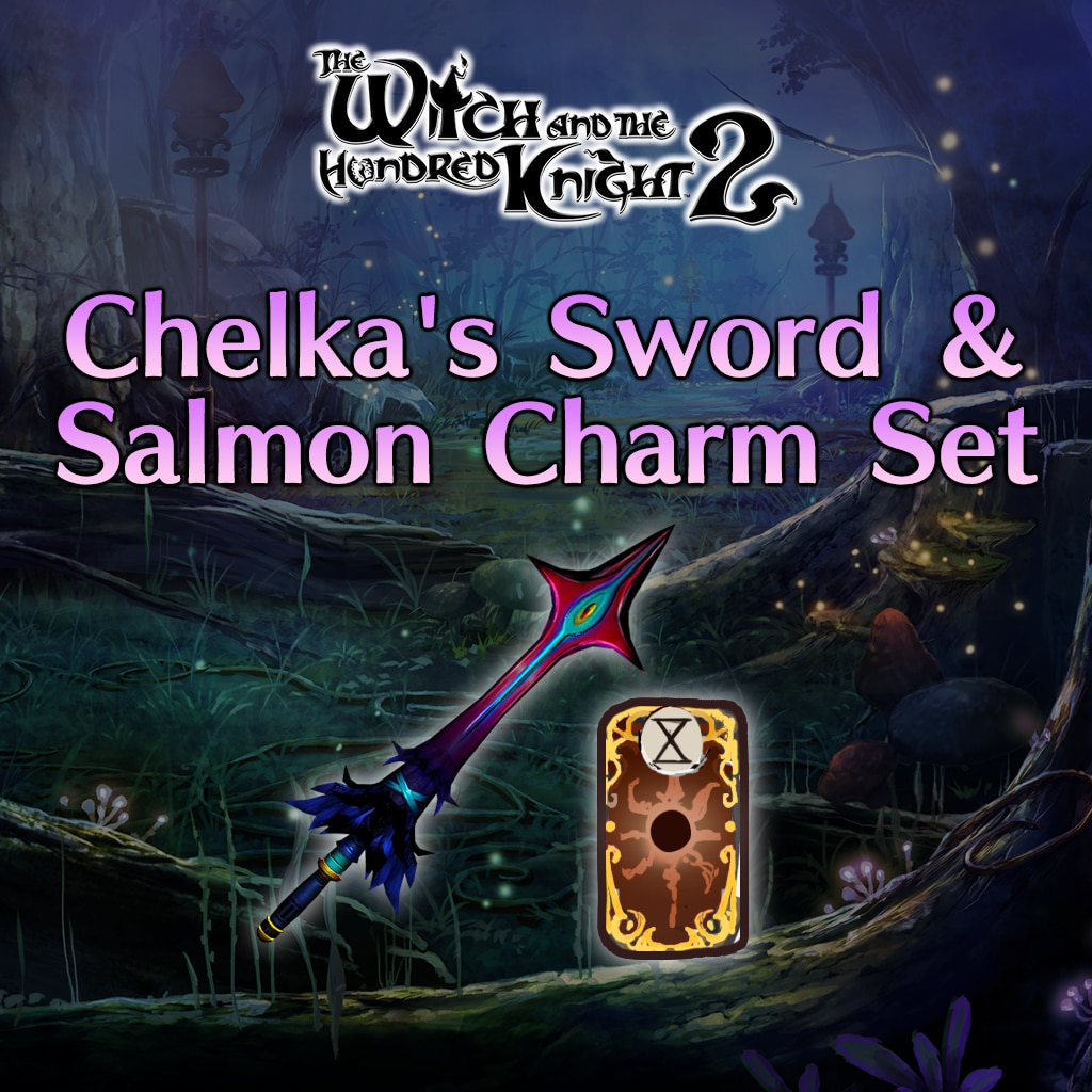Chelka's Sword & Salmon Charm Set