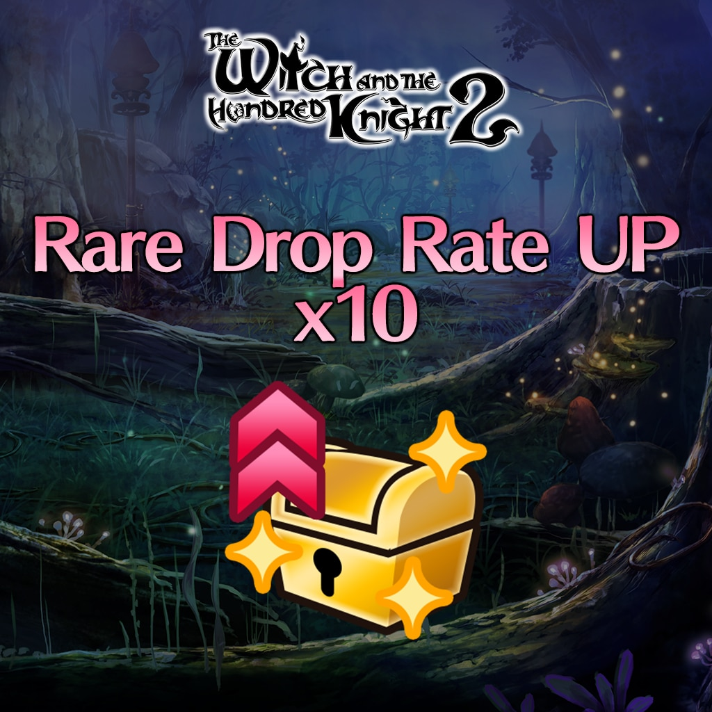Witch's Secret Skill [Rare Drop Rate UP] x10