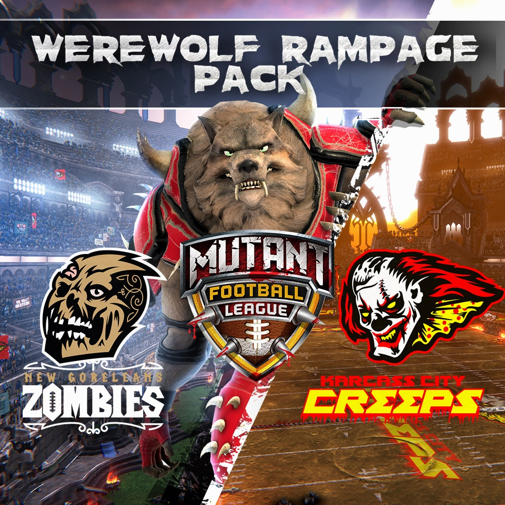 Mutant Football League: Werewolf Rampage Pack