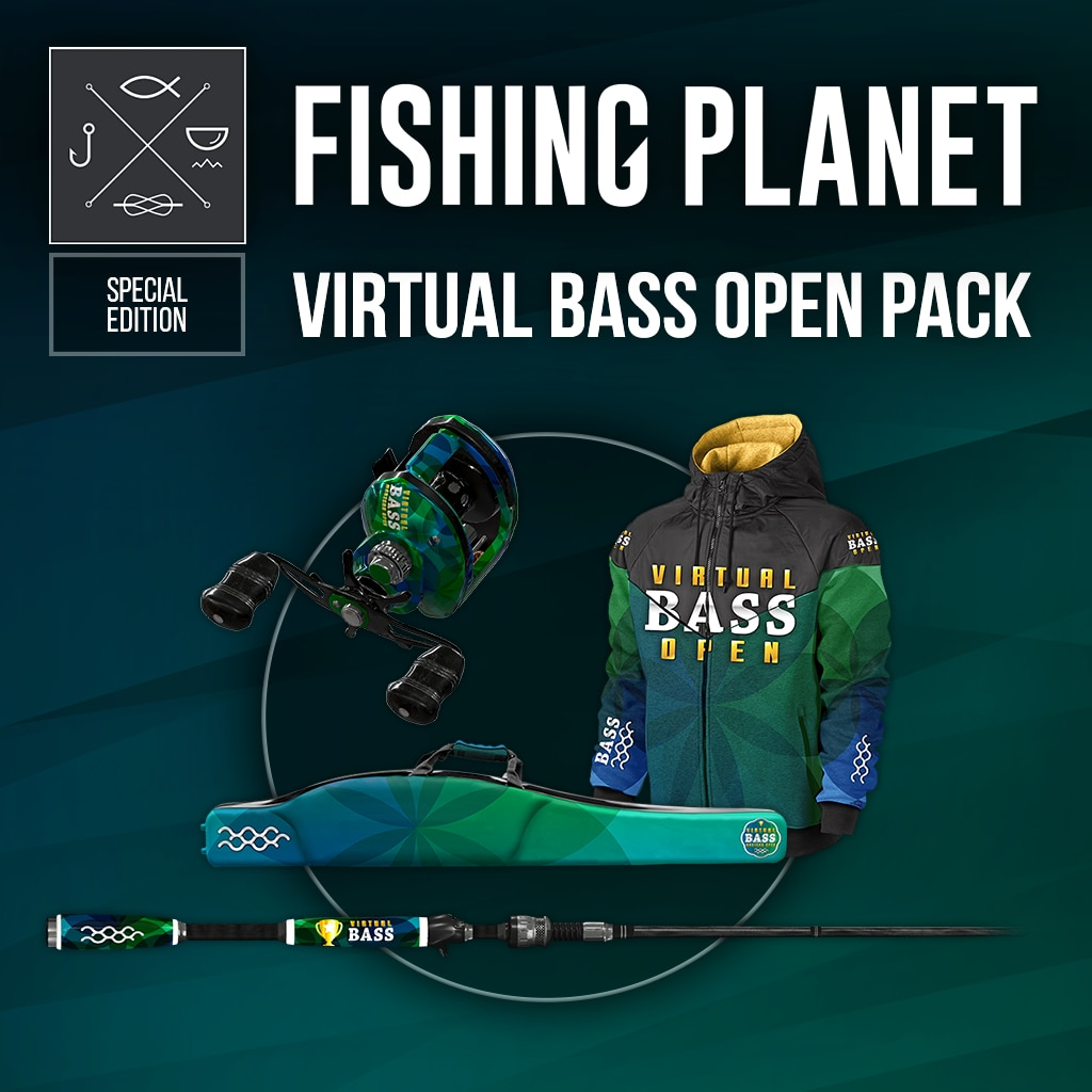 FISHING PLANET: VIRTUAL BASS OPEN PACK