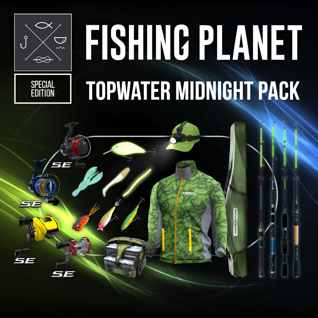 Topwater Midnight Pack