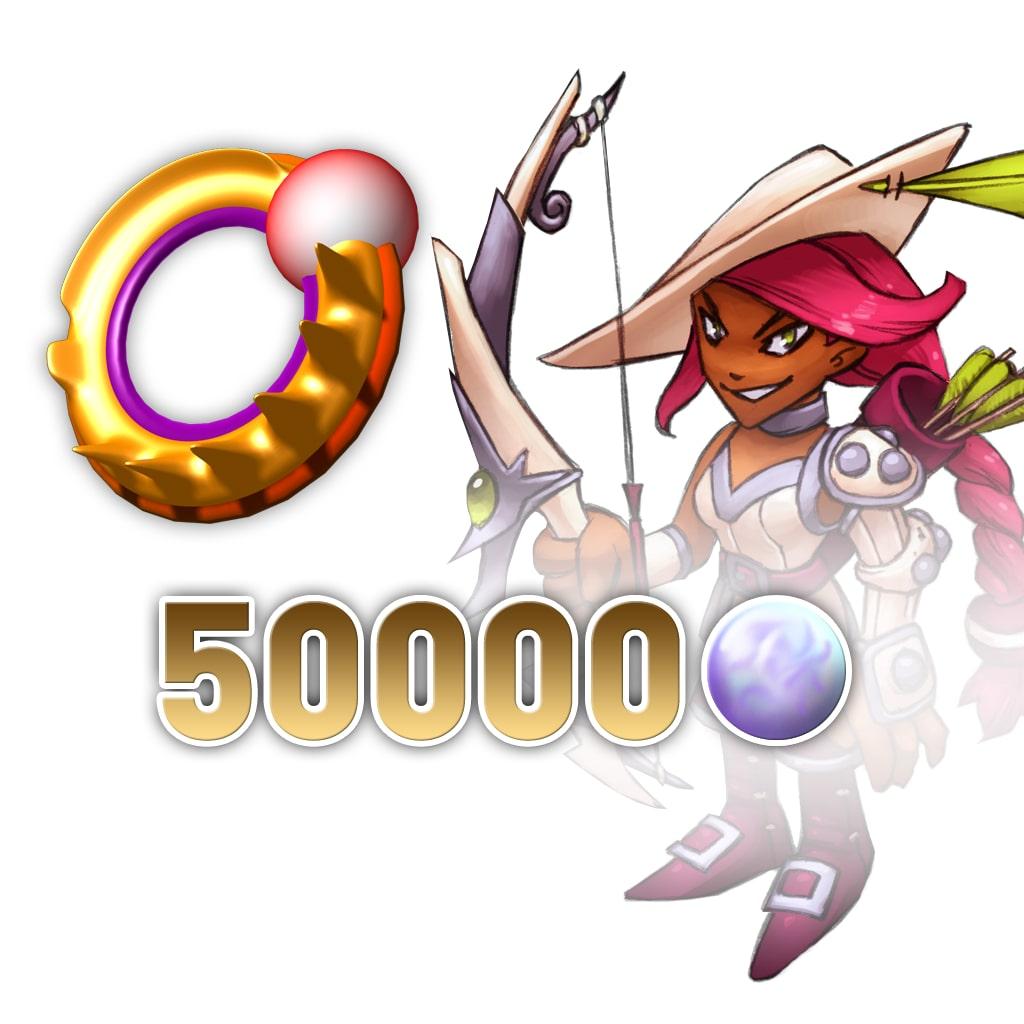 Rainbow Moon 50000 Rainbow Pearls (Trisha) [Cross-Buy]