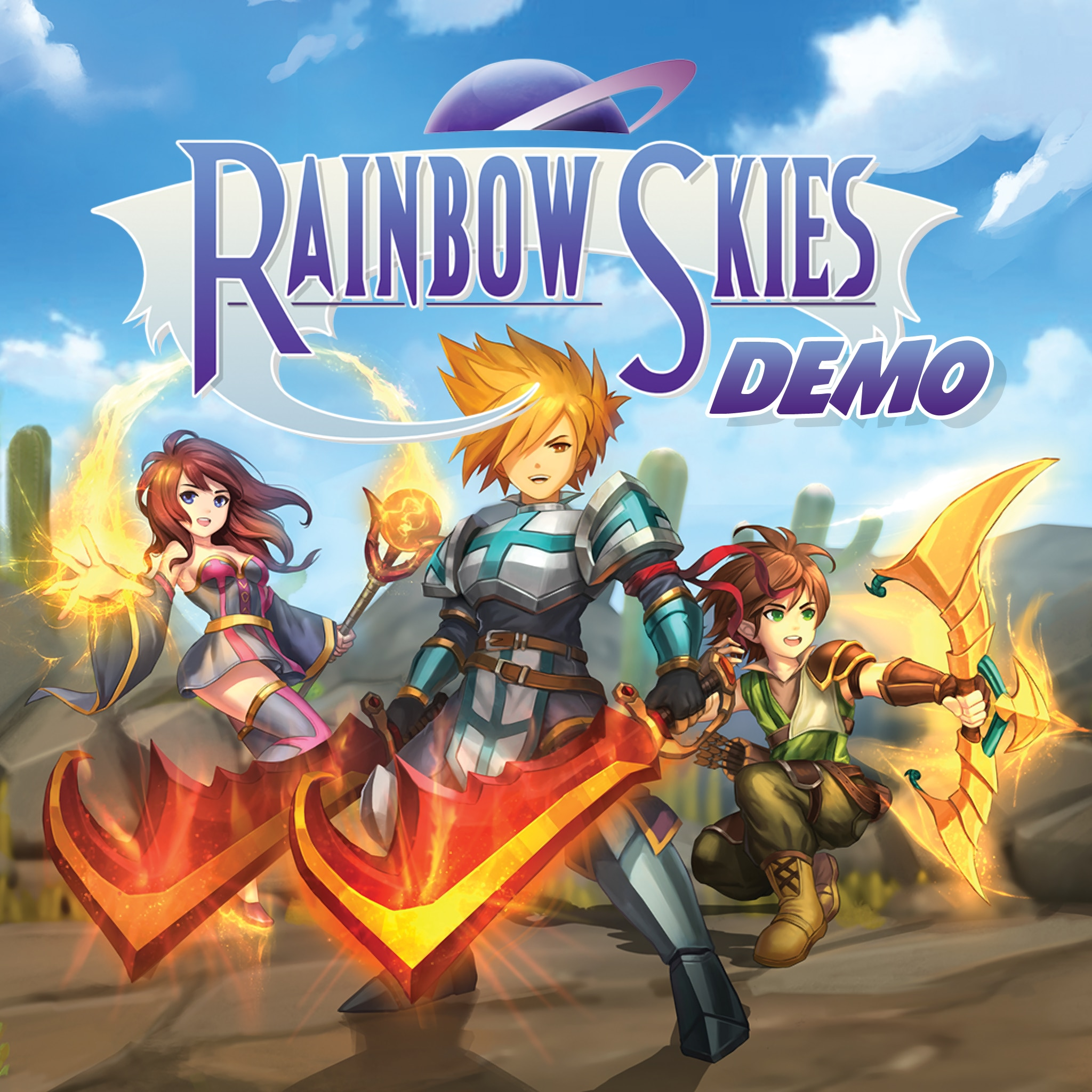 Rainbow Skies Demo