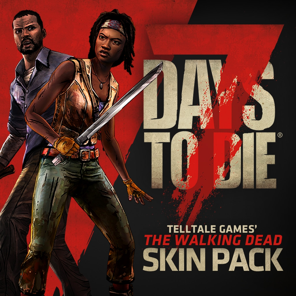 7 Days to Die - The Walking Dead Skin Pack