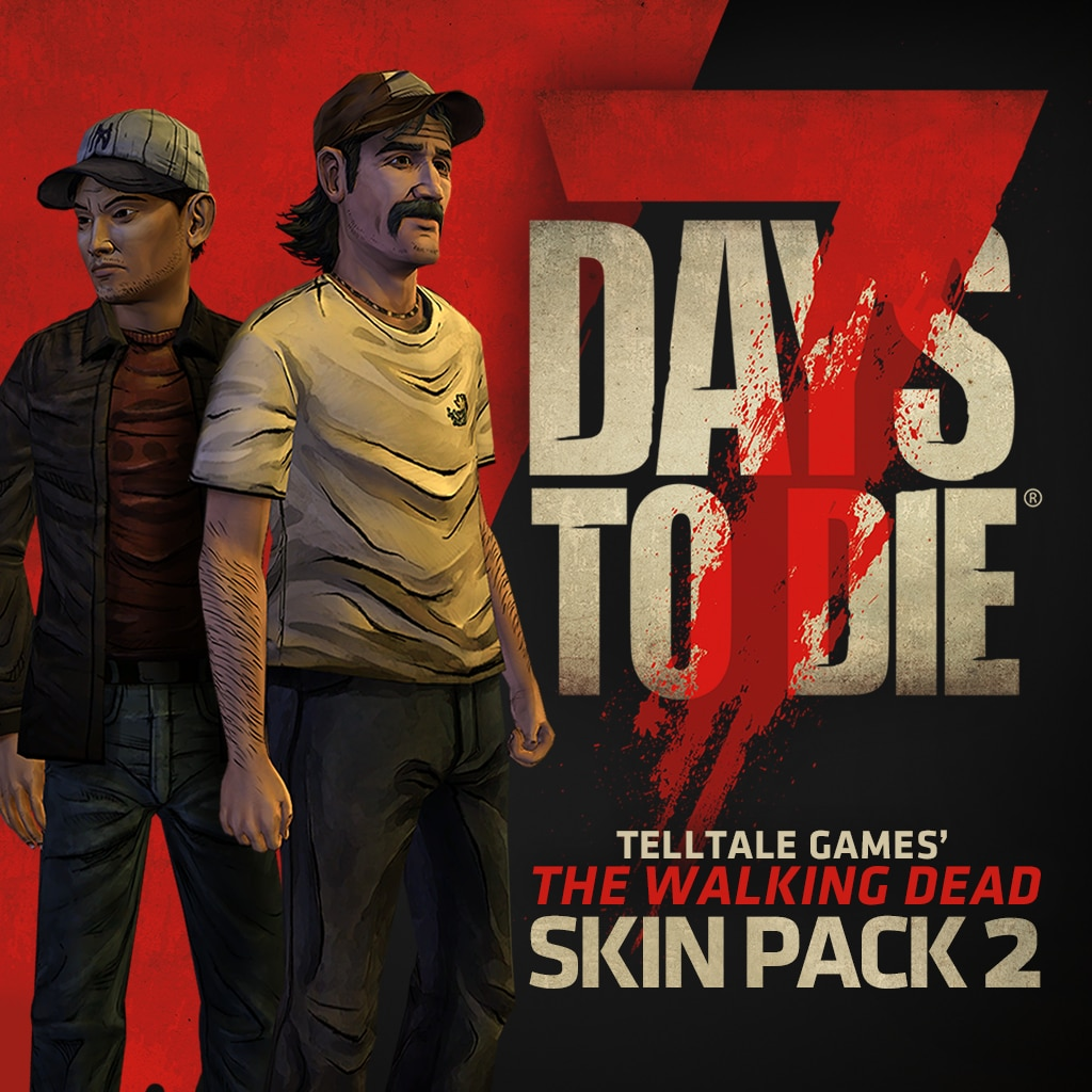 7 Days to Die - The Walking Dead Skin Pack 2