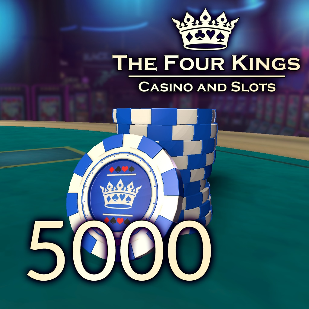 Four Kings Casino: Пакет Фишек 5.000