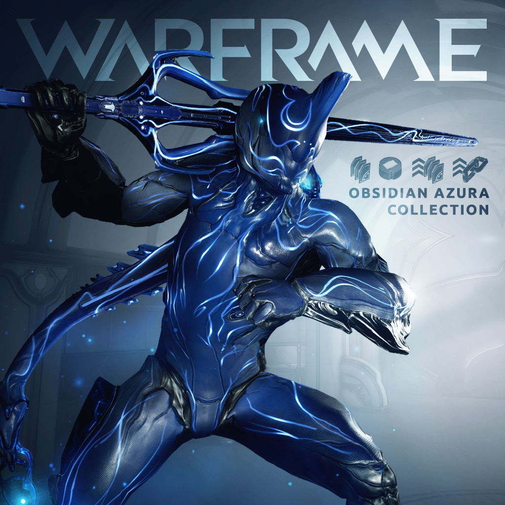Warframe®: Collection Azura Obsidienne PS4™