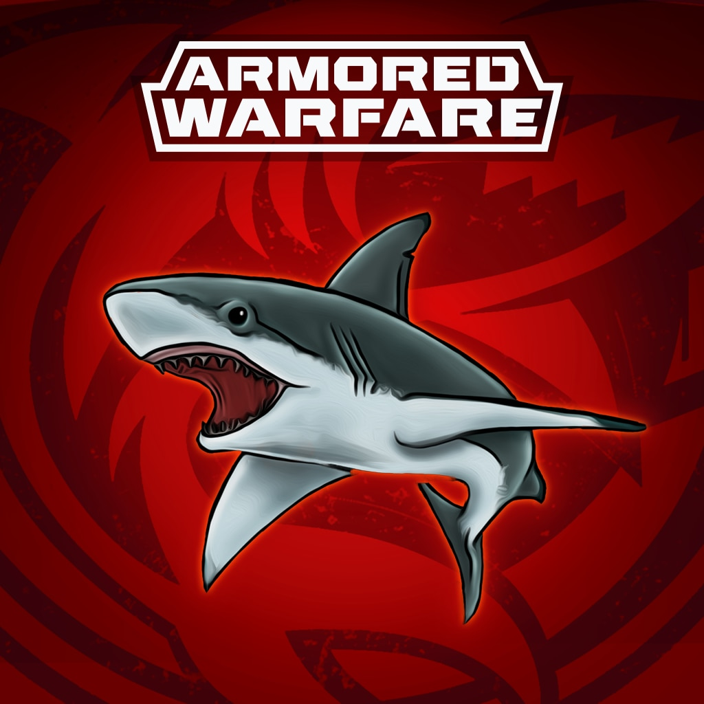 Armored Warfare – Blue Shark Decal