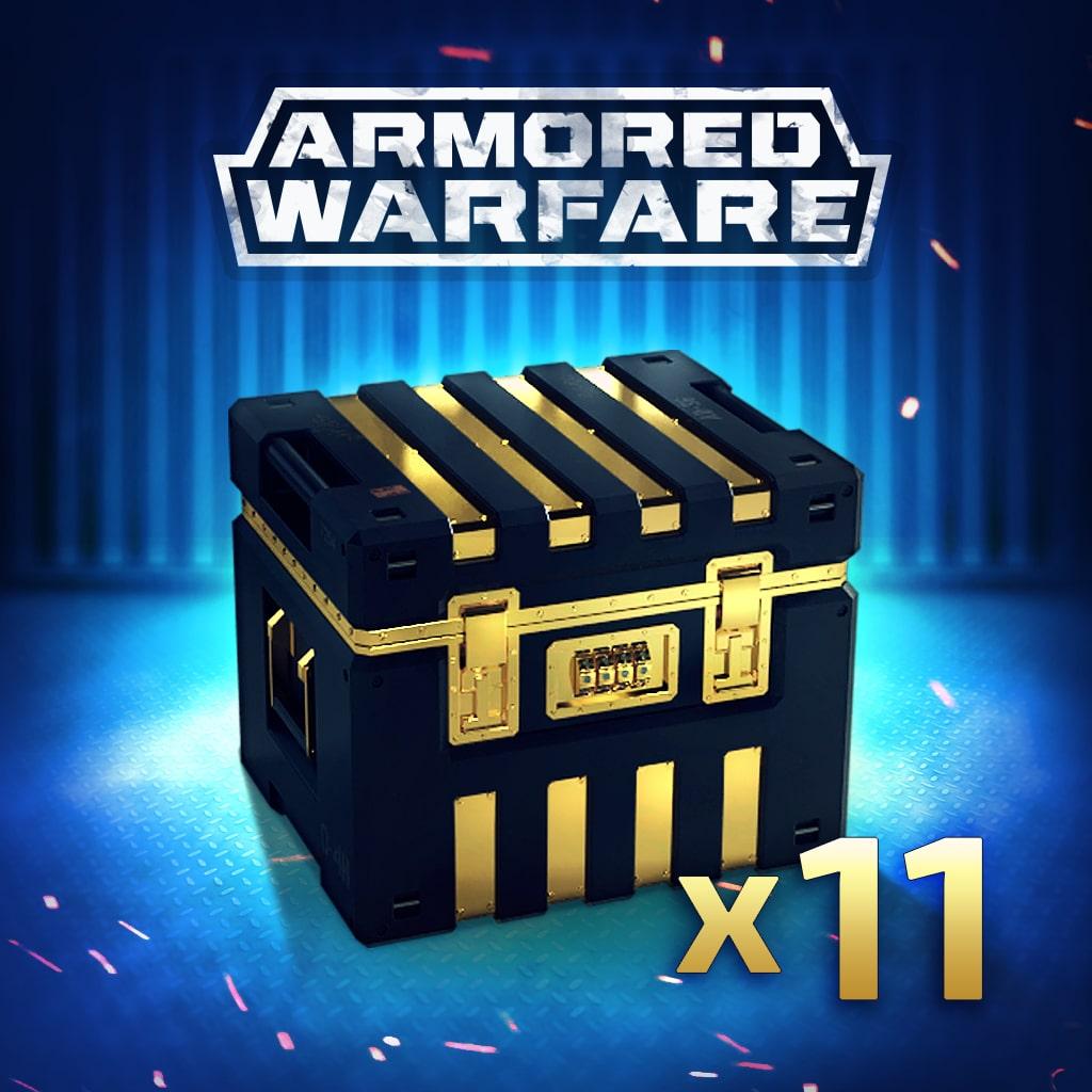 Armored Warfare – 11 Gold Crates