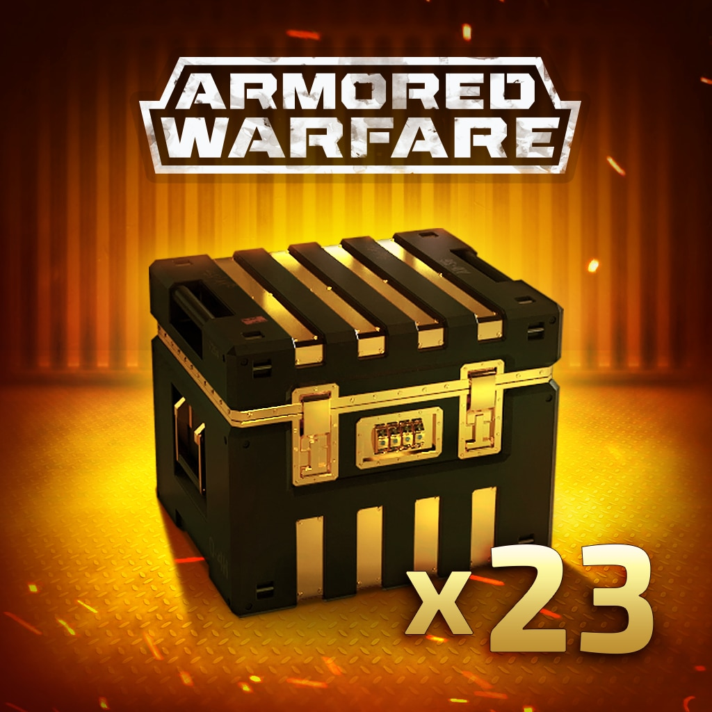 Armored Warfare – 23 Gold Crates