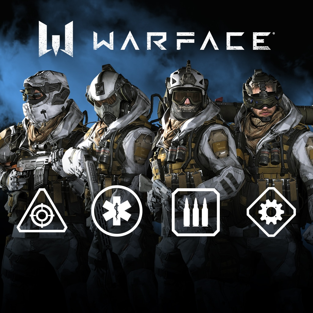 Warface - 「Arctic」 bodyskin Pack (English/Chinese/Korean Ver.)