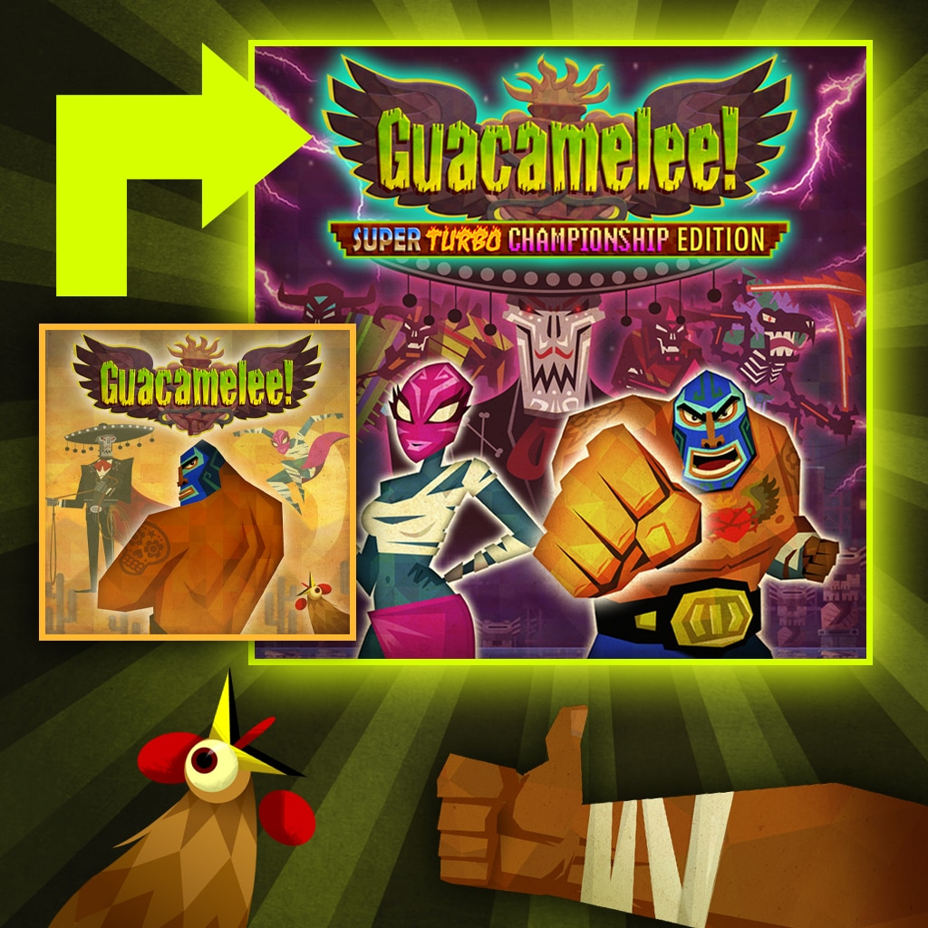 Guacamelee! Super Turbo Championship Edition - Mise à jour PS4