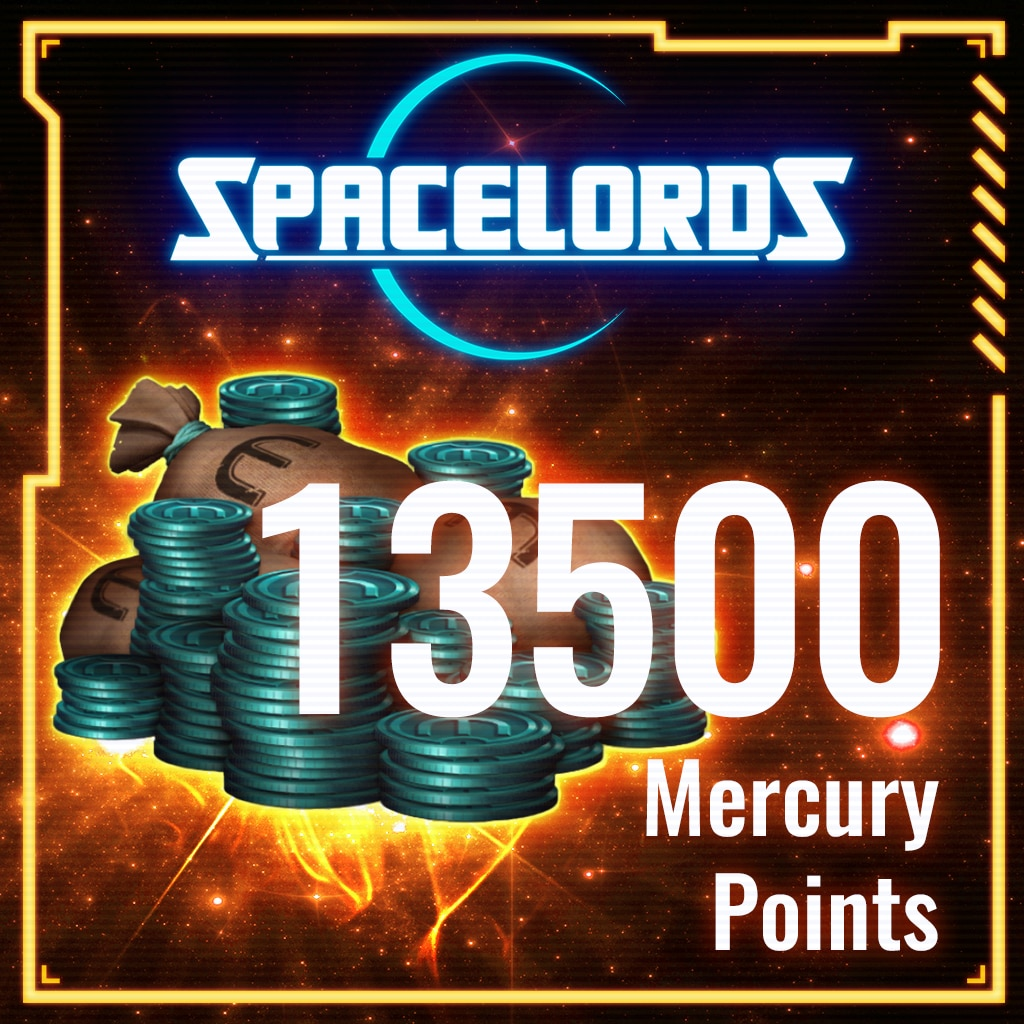 Spacelords: 13500 Mercury Points