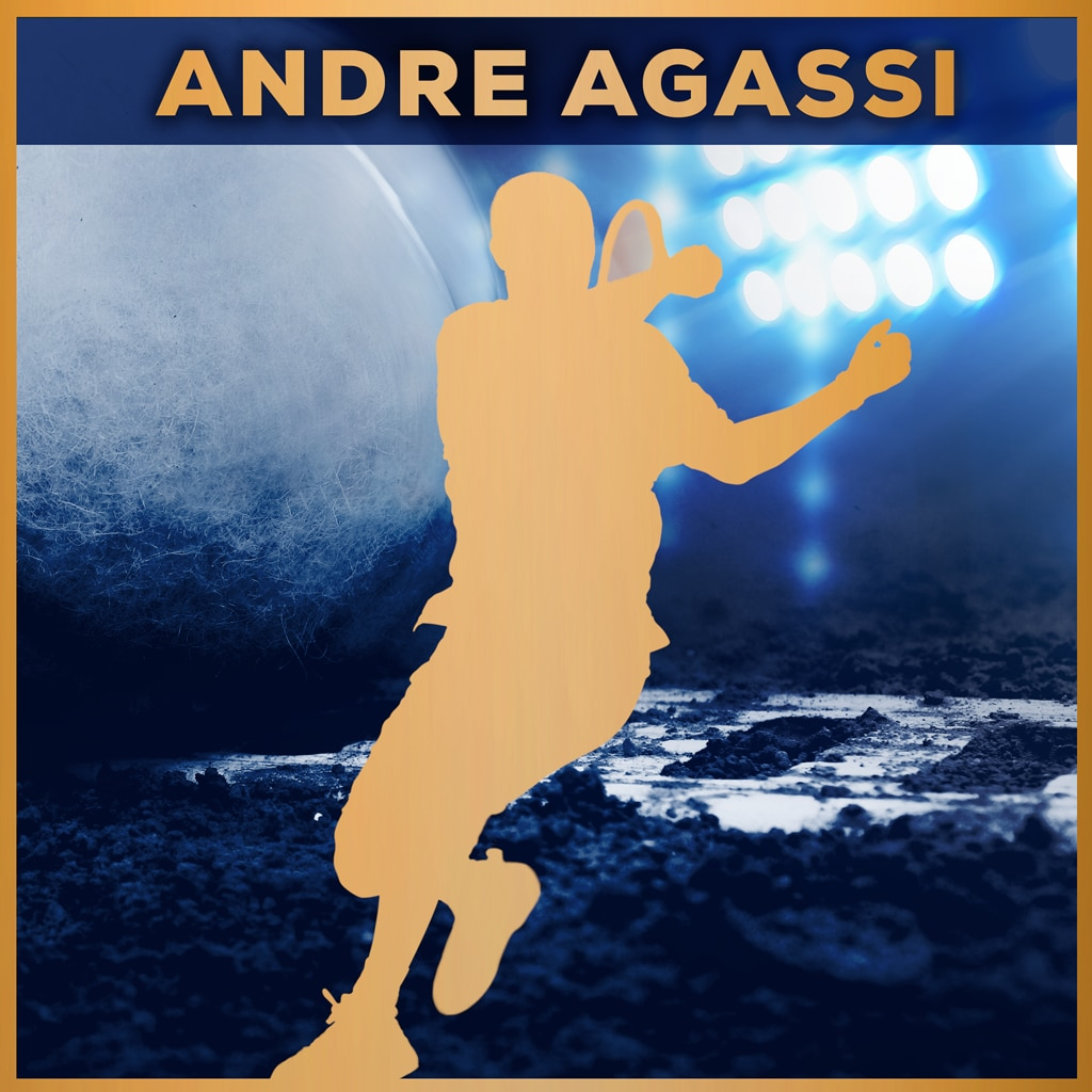 Tennis World Tour - Andre Agassi